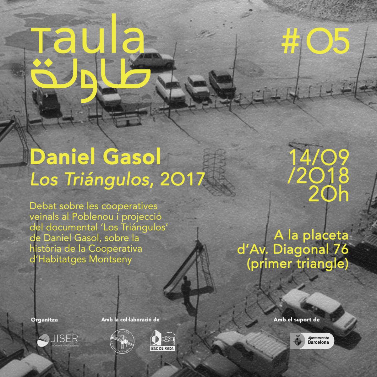 Daniel Gasol, TaulaO5, 2018.
